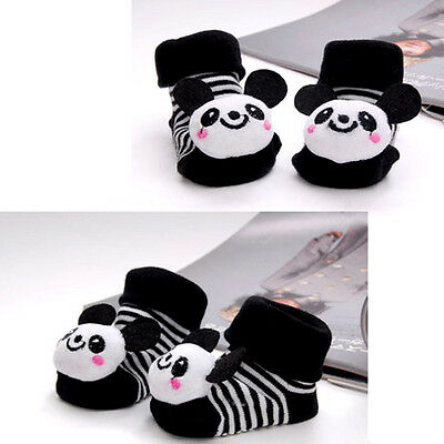Baby Lovely Newborn Soft Anti-slip Socks Comfy Animal Shoes Boots 0-6 Months