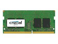Crucial 8gb Ddr4 2400 MHz Pc4-19200 SODIMM 260-pin Laptop Memory SR