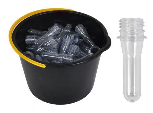 100 Petling Geocahing Petlinge 9cm ou Couvercle Plastique Vide Pfandflaschen