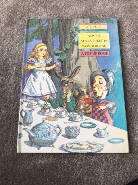 Alice in Wonderland: Pop-up Bk by Lewis Carroll (Hardback, 1980)