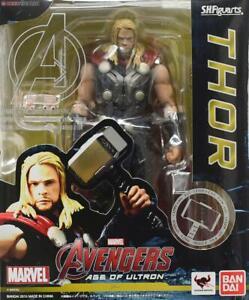 MARVEL-Avengers-Age-of-Ultron-S-H-Figuarts-Thor-Bandai-Tamashii-Action-Figure