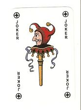 Vintage Collectable Hand Puppet Single Joker Playing Card A1 Condition
