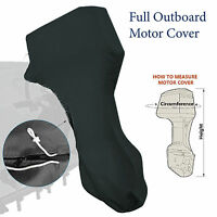 Boat Full Outboard Motor Engine Cover Fits Up To 5hp Black