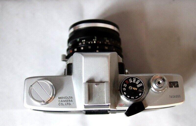 Minolta, SRT101x, spejlrefleks