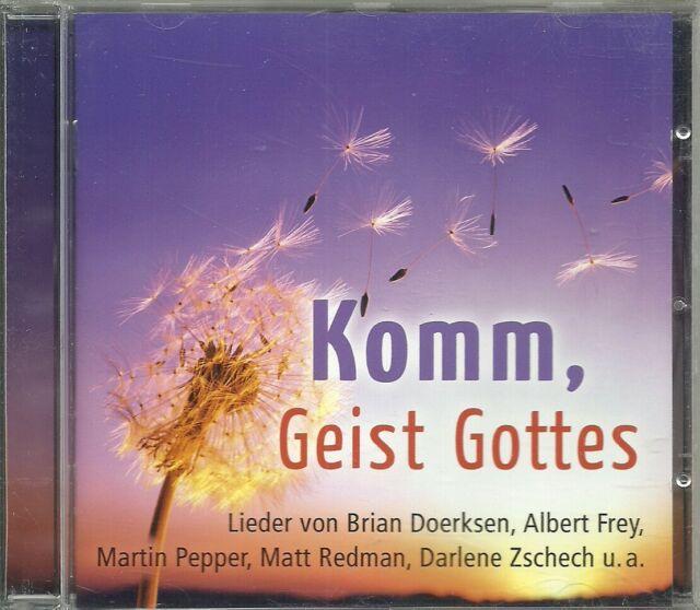 CD - martin Pepper, Albert Frey - Komm, Geist Gottes (16 Songs) GerthMedien