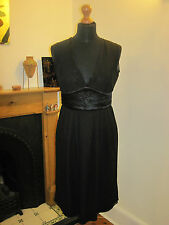 FULL CIRCLE little black baby doll DRESS goth Lolita 10 new party cocktail LBD