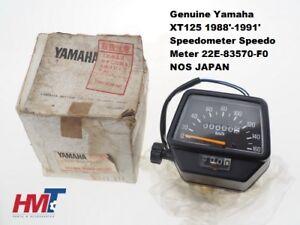 Yamaha-XT125-XT250-XT350-XT600-Speedometer-Speedo-Meter-22E-83570-F0-NOS-JAPAN