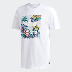 Détails sur Adidas skateboarding BB Floral T shirt blanc afficher le titre d'origine