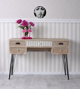 Reception loft design tavolo consolle scrivania per for Scrivania reception