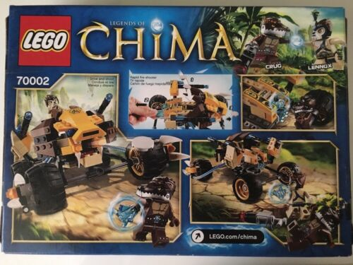 70002 2 Minifigures 230 Pcs 7+ LEGO Legends of Chima Lennox/' Lion Attack set