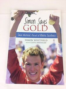 Simon-Says-Gold-Book-NEW-AUTOGRAPHED-SIGNED-COPY-AUTHENTIC