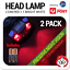 2-x-Red-amp-White-LED-Astronomy-Headlamp-Night-Light-Head-Torch-inc-Batteries thumbnail 1