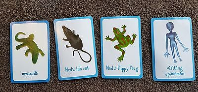 WHAT/'S IN NED/'S HEAD Replacement Cards Mouse Tongue Frog Spider Ant Choose Part