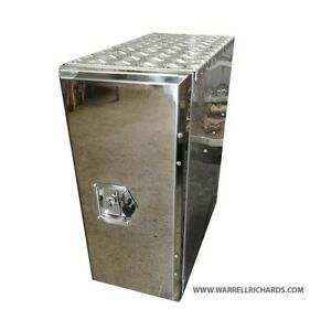 Volvo Fh Stainless Tool Box Adblue Truck Side Box Side Mount Storage 300x700x650 Ebay