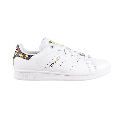 Adidas Stan Smith Womens Shoes Floral Footwear White-Gold EF1481 | eBay