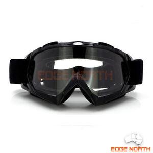 Motocross-Motorbike-GOGGLES-UV-Protection-Dirt-Trail-MX-bike-ATV-Clear-lens