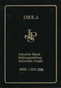 1-JPS-Imola-Autoradio-Bedienungsanleitung-1975-manual-Betriebsanleitung-Citroen