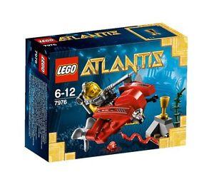 LEGO-Atlantis-7976-Tiefseejet-Ocean-Speeder-Uboot-Neu-Ovp-MISB