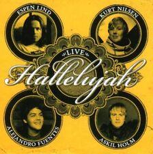 CD Kurt Nilsen, Espen Lind, A.Fuentes,Hallelujah 1 LIVE , Askil Holm, RAR