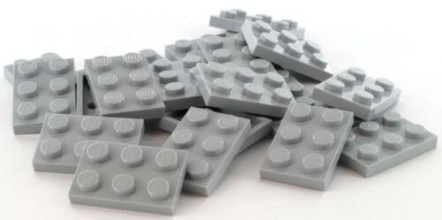 4211396 3021 20 Pièces LEGO Pierre Plaque 2x3 Gris NEUF