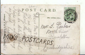 Genealogy-Postcard-Parker-North-View-Rampton-Cambridgeshire-Ref-8252A