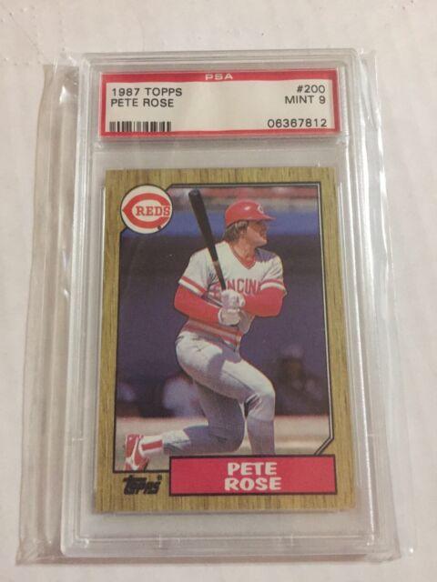 1987 Topps Pete Rose 200 Baseball Card