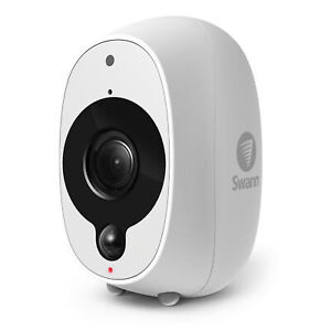 Refurbished Swann Smart Security Camera: 1080p Full HD Wireless Security Camera