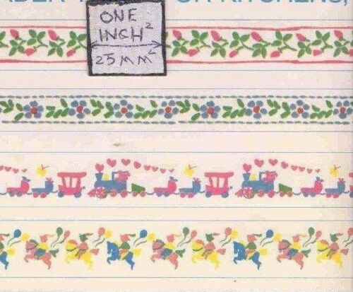 Millie/'s Border Trims wallpaper dollhouse 4 borders 1pc 4079 paper