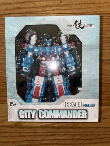 Iron Factory ville commandant si EX-04 NEUF