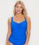 Profile by Gottex TUTTI FRUTTI BLUE Underwire Tankini Swim Top UK 36F US 36G