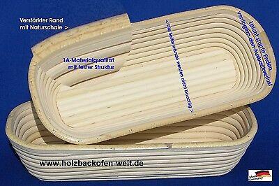 Sonnig Gärkörbe Gärkorb Brotkorb Peddigrohrform Made In Germany Oval 0,5-2kg Premium Ax Backformen & Tortenringe Bäckereiausstattung