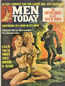 Men Today Magazine: June 1964 - Pulp, Sex, Crime, Nazis, Adventure