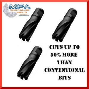 25mm-DEPTH-BLACK-CUT-MAG-SLUGGER-DRILL-BITS-12-50mm-DIAMETER