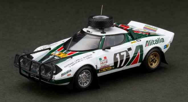 LANCIA STRATOS HF SAFARI 1976 HPI RACING BIANCO 1 43