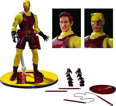 The One:12 Collective Marvel PX Yellow Daredevil Figure by Mezco