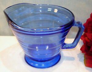 Cobalt-Blue-Depression-Glass-Hazel-Atlas-Moderntone-Creamer