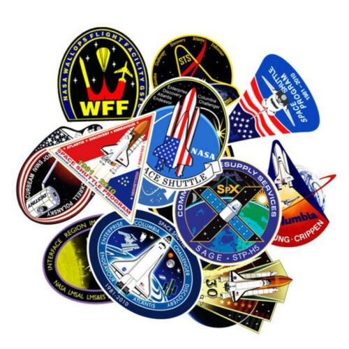 45Pcs Outer Space Rocket Sticker Astronaut UFO Cartoon Sticker Child Gift Toys