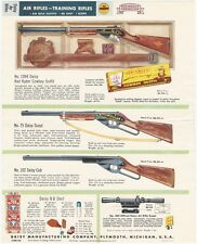 1957 Daisy Air Rifle and Training Rifles Full-Color Dealer Brochure