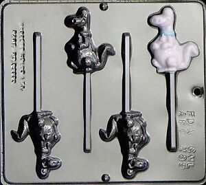 Foot Lollipop Chocolate Candy Mold 3461 NEW