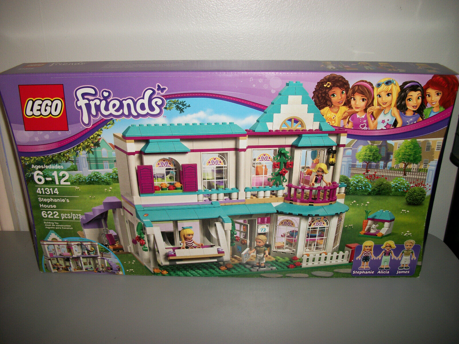 Lego Friends Stephanie's House 41314 New Gift Toy Toy Toy Sealed 2bf7a3