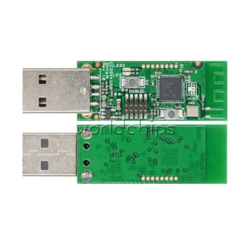 1//2//5PCS CC2531 Sniffer Bare Board Wireless Protocol Analyzer USB Dongle Module