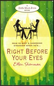 034-Right-Before-Your-Eyes-034-by-Ellen-Shanman-Used-Book