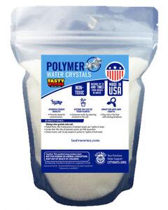 10 Lb (environ 4.54 Kg) Fine Polymère Cristaux D'eau Made In Usa Absorbant Sol Humide Cricket-afficher Le Titre D'origine Limpide à Vue