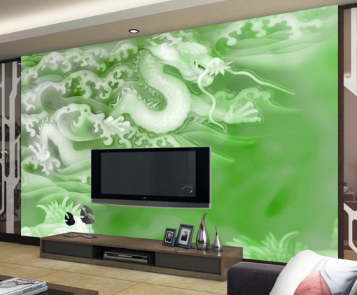 3D Dragon Adorn 662 Wallpaper Murals Wall Print Wallpaper Mural AJ WALL AU Kyra