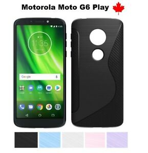 For-Motorola-Moto-G6-Play-TPU-Anti-Scratches-Soft-Silicone-Rubber-Cover-Case