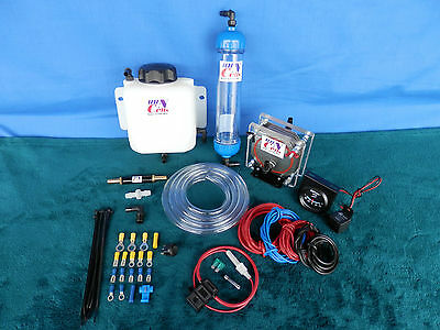 2.0 L/M HHO Dry Cell Hydrogen Generator Kit Brown Gas safe for Volo EFIE PWM KOH