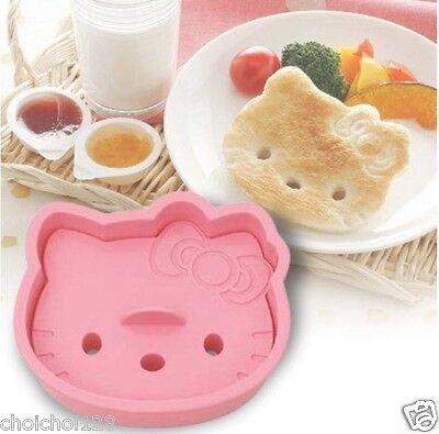 Hello Kitty Face Toast Sandwich Bread Mold Mould Cutter KK188