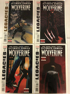 Ultimate Comics Wolverine #1 2 3 4 Comic Book Set #1-4 Marvel 2013