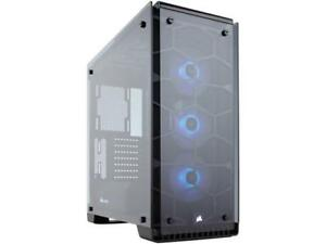 Corsair Crystal Series 570X RGB CC-9011098-WW Steel / Tempered Glass ATX Mid Tow