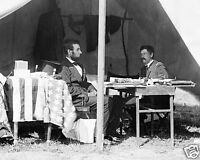 Abraham Lincoln With Union General Mcclellan 1862 Civil War 8 X 10 Photo Picture